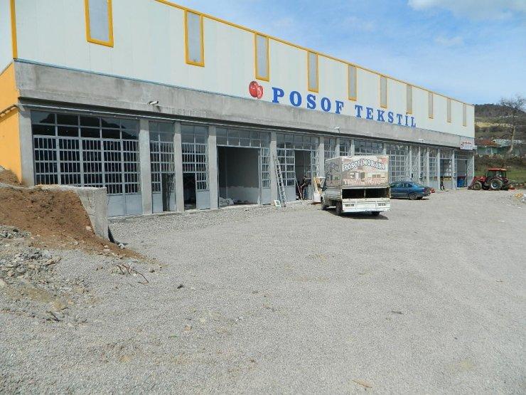 Posof sanayi sitesine kavuştu