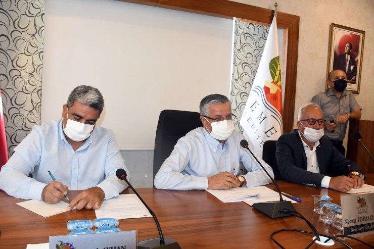 Kemer Belediyesi Haziran ayı olağanüstü meclis toplantısı yapıldı