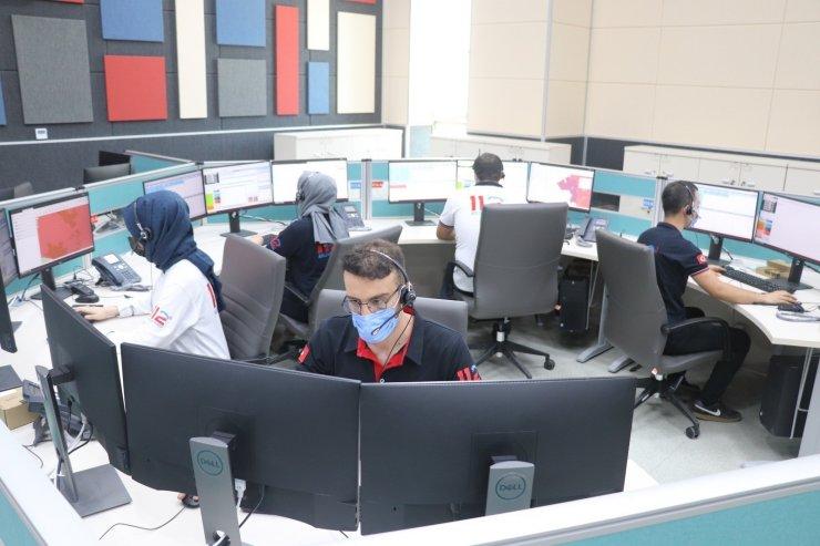 Siirt'te 112 Acil Çağrı Merkezi hizmete girdi