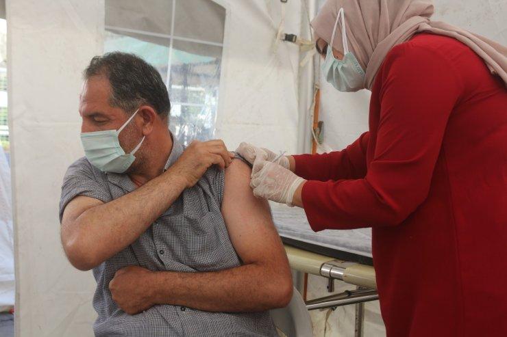 Van'da korona virüs aşı seferberliği