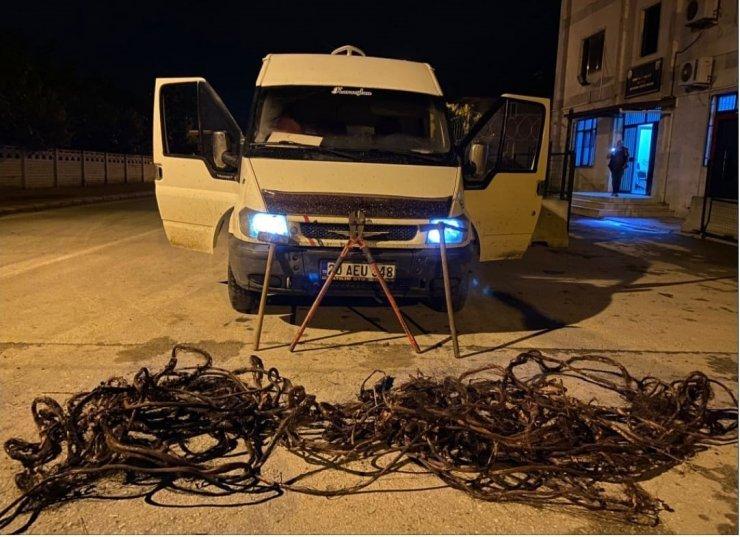 Fabrikadan 70 bin TL'lik kablo çalan hırsız sevgililer serbest kaldı