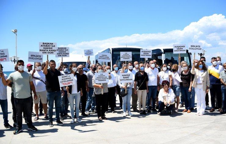 Kuşadası'ndan Didim Belediye Başkanı Atabay'a destek