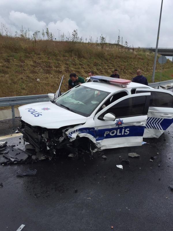 Kuzey Marmara Otoyolu'nda kaza: 2 yaralı