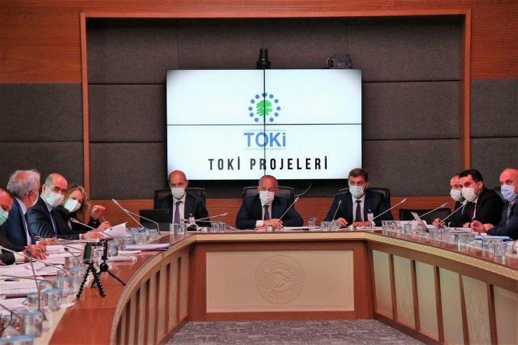 """TOKİ Başkanı Bulut: """"2021'in ilk 5 ayında 59 bin konut rakamına ulaştık"""""""