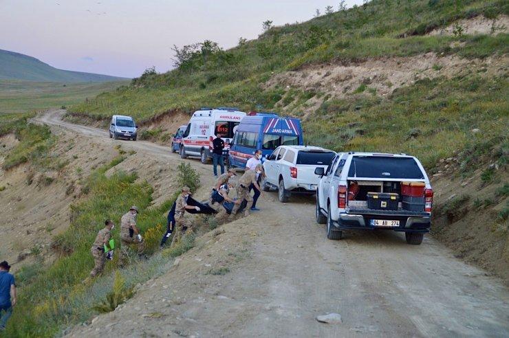 Ağrı'da baraj kıyısında erkek cesedi bulundu