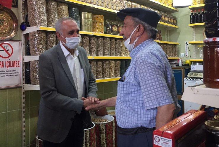Milletvekili Yakup Taş Besni esnafının derdini dinledi