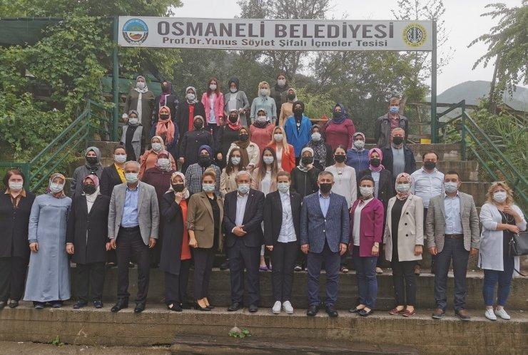 AK Partili başkanlar Osmaneli'nde buluştu