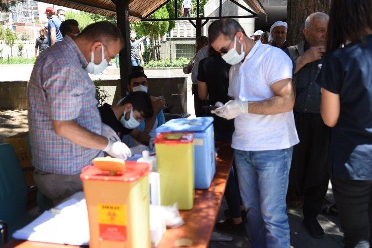 Siverek'te mobil aşı çalışması başladı
