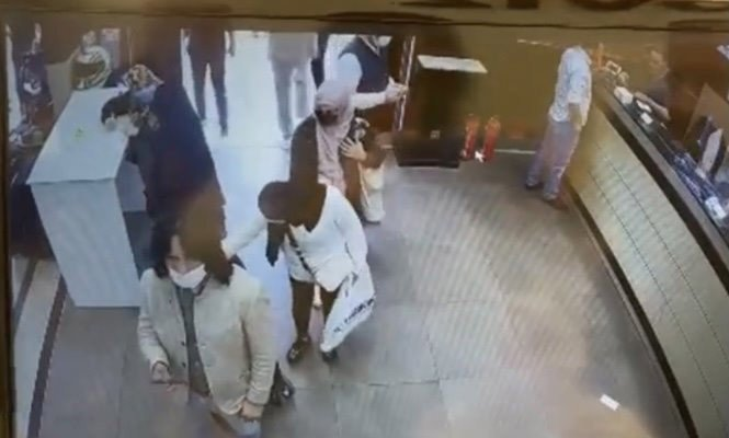 Fatih'te Arap turistler Çeçen turisti böyle soydu
