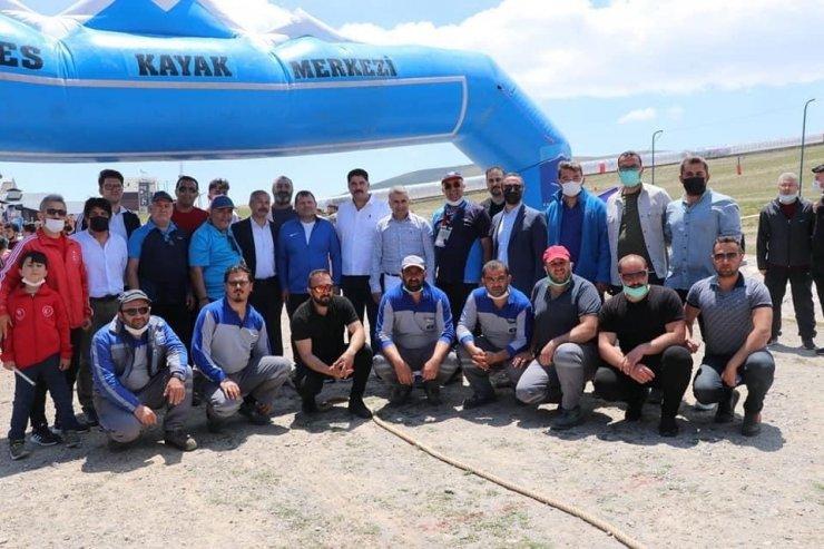 Erciyes'te Halat çekme şampiyonası yapıldı