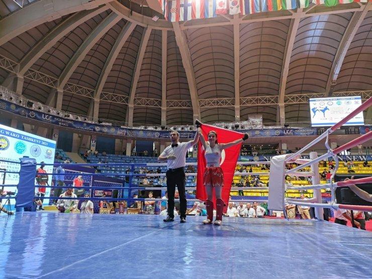 Erivan Barut, Özbekistan'da birinci oldu