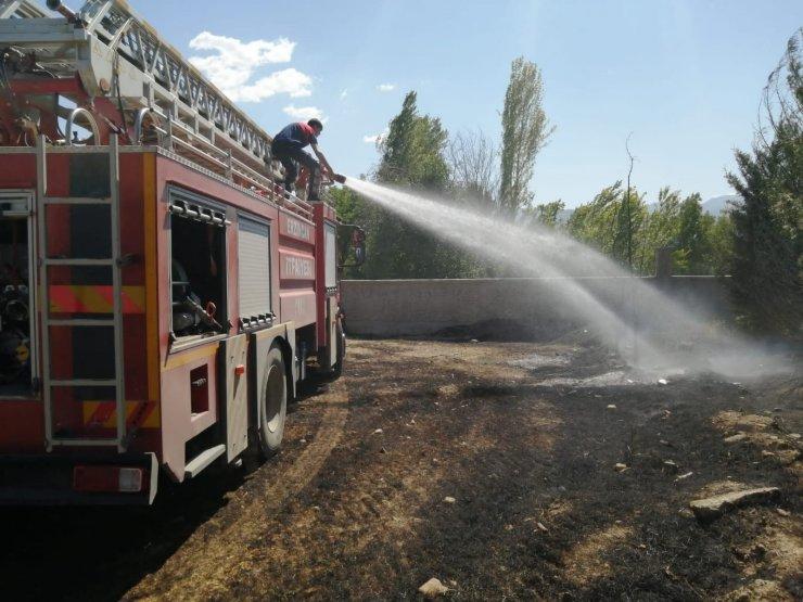 Sıcak Hava Erzincan'da yangınları artırdı