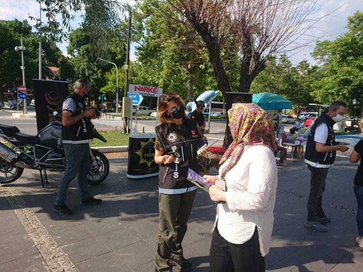 Tekirdağ'da narko polisler sahada anneler için çalışıyor