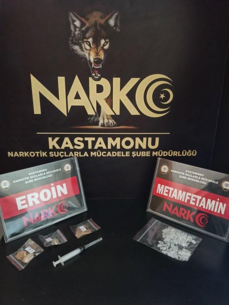 Kastamonu'da uyuşturucu operasyonu: 2 gözaltı