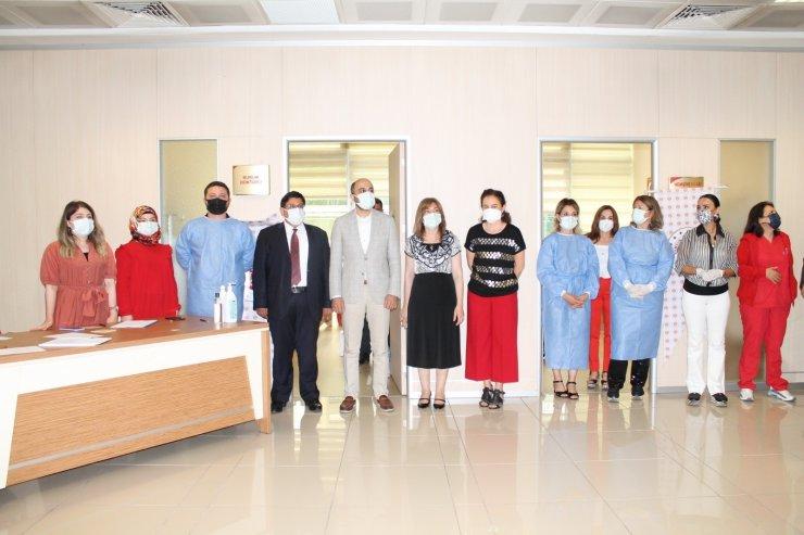 Samsun Adliyesinde korona aşısı yapıldı