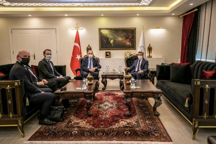 Fransa Büyükelçisi Magro, Vali Bilmez'i ziyaret etti.
