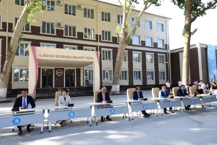 Bakan Ersoy, Tefekkür Gülşeni Anıtı'nın temel atma törenine katıldı