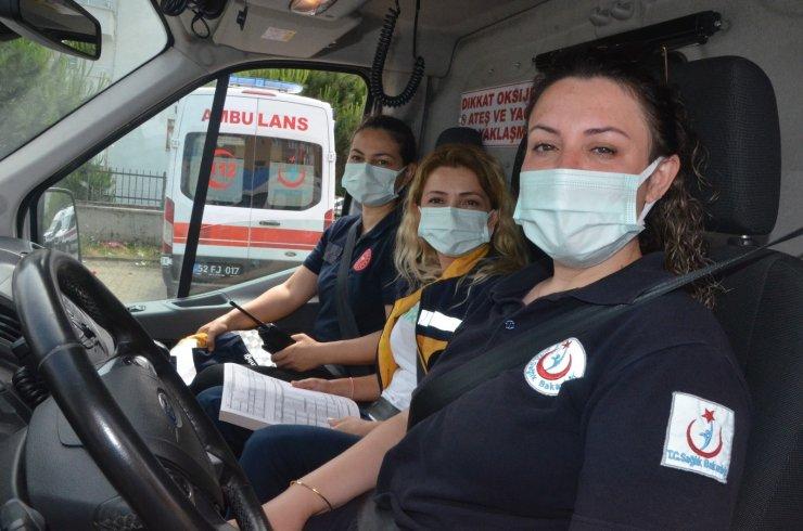 Bu kadınlar hayat kurtarmak için direksiyon başında