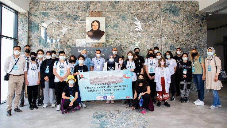 TÜBİTAK Projesi Kapsamında Özel Yetenekli Öğrenciler, Kayseri Üniversitesi'nde