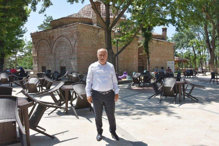 Tarihî park hizmete açıldı