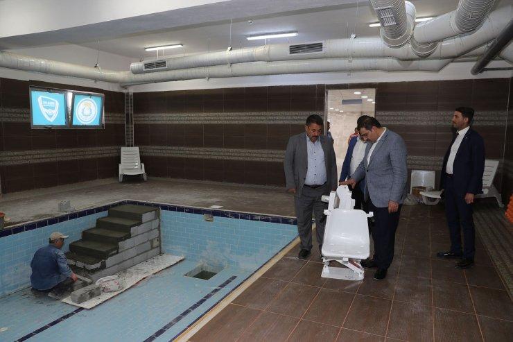 Şanlıurfa'da engelliler için havuz projesi