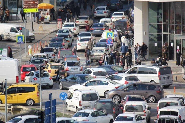 Samsun'da motorlu kara taşıt sayısı bir yılda 21 bin 502 adet arttı