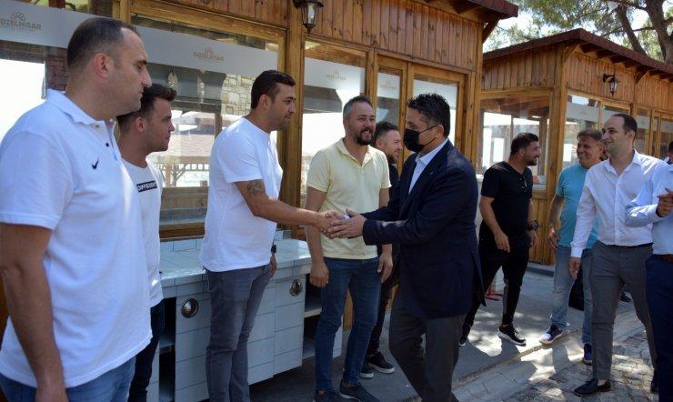 Aliağaspor FK, çeyrek final öncesi taraftarıyla buluştu