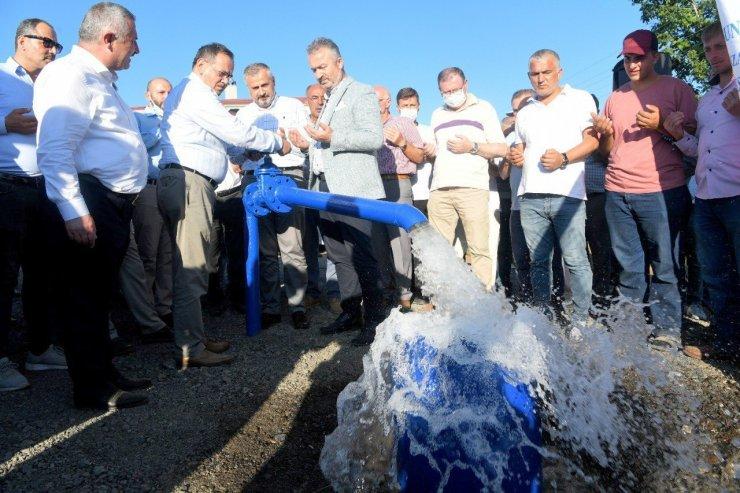 Nebiyan İçme Suyu Arıtma Tesisi hizmete girdi