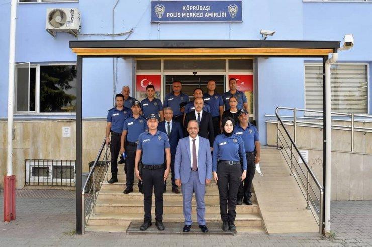 Emniyet Müdürü İnci polis merkezlerini tek tek gezerek bayramlaştı