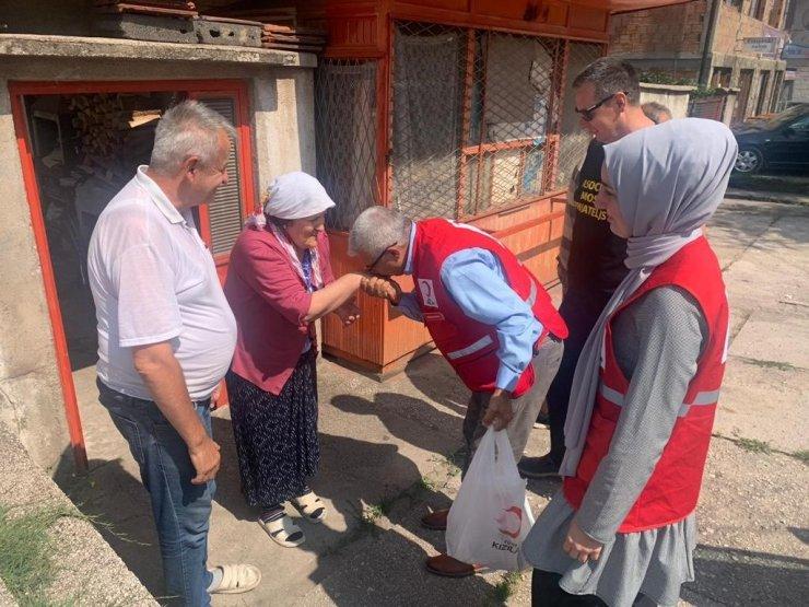 Türk Kızılay Bosna Hersek'te kurban bağışı yaptı
