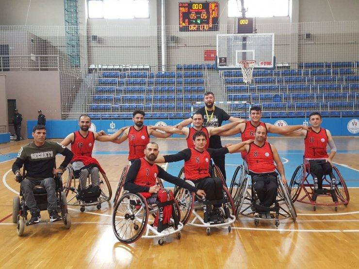 Van Bedensel Engelliler Spor Kulübü Tekerlekli Sandalye Basketbol Takım ligden düştü