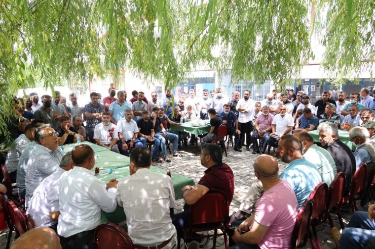 Belediye Başkanı Savran'dan köylere ziyaret