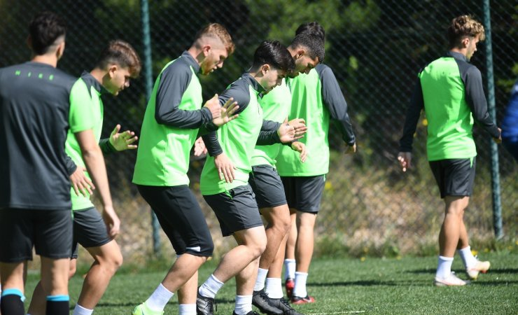 Bursaspor'da tempo arttı