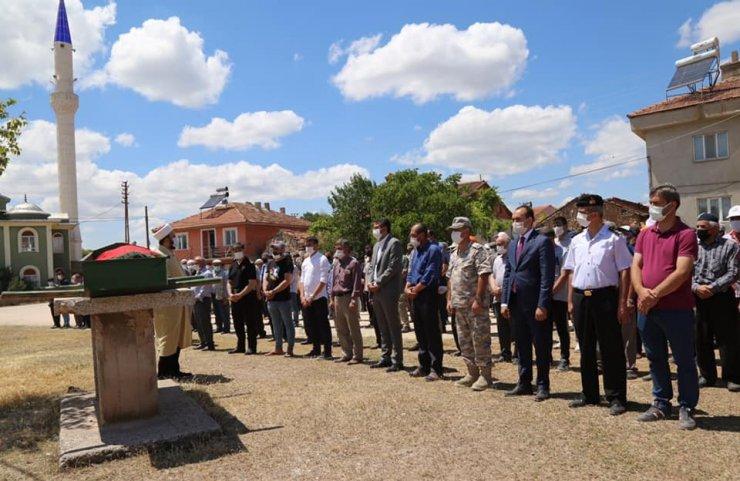 Kıbrıs Gazisi Ahmet Eroğlu toprağa verildi