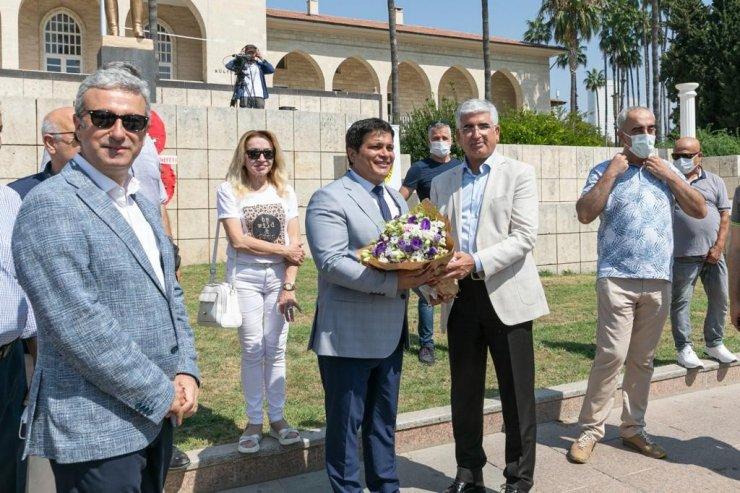 Mersin'de 'Basında sansürün kaldırılışının yıl dönümü' dolayısıyla tören düzenlendi