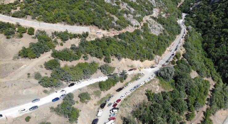 Tatilciler, UNESCO Dünya Mirası Geçici Listesindeki mağaraya akın etti