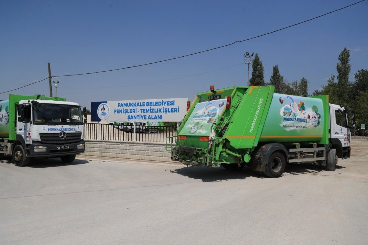 Çöp kamyonlarından artık turunç kokusu yayılıyor