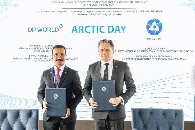 Rosatom ve DP World işbirliği anlaşması imzaladı