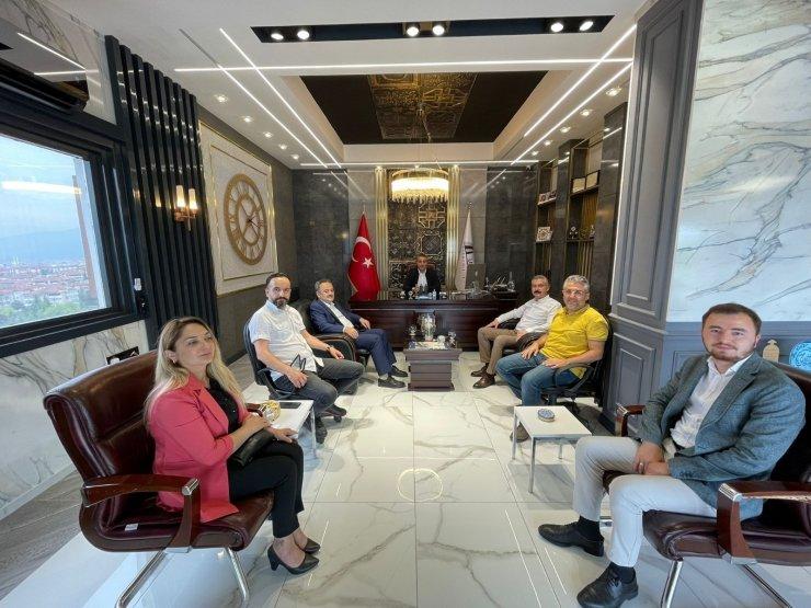 AK Parti teşkilatından Ünal'a ziyaret