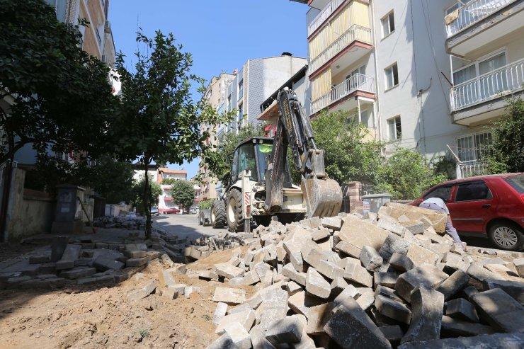 Efeler Belediyesi, yolları yeniliyor
