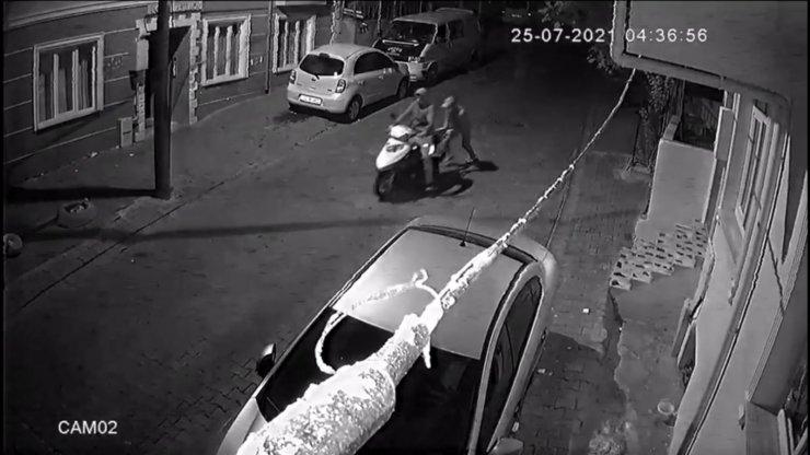 İmamın motosikletini çaldılar