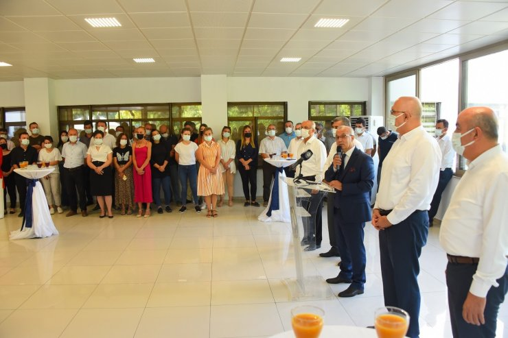 Başkan Kayda, personeliyle bayramlaştı