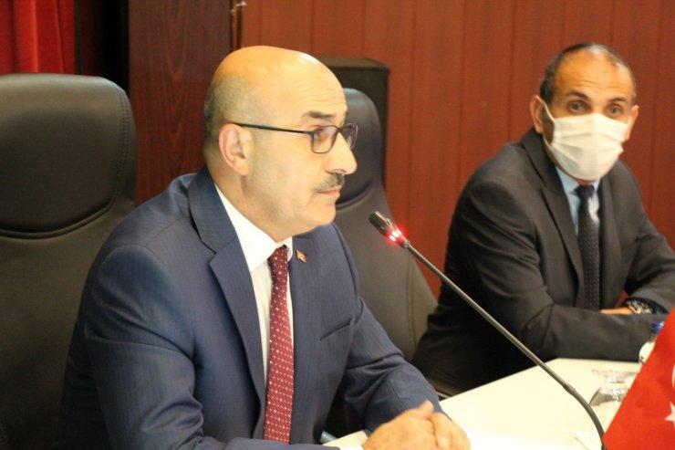 Mardin'de il koordinasyon kurulu toplantısı gercekleştirildi