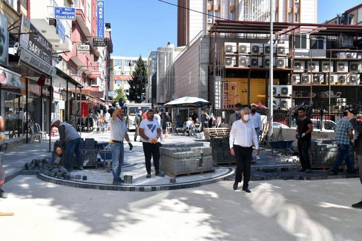 Isparta'da köy pazarı yenileniyor