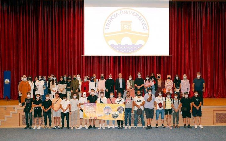 Anadolu ve Avrupa'dan gelen gençler Trakya Üniversitesi'nde buluştu