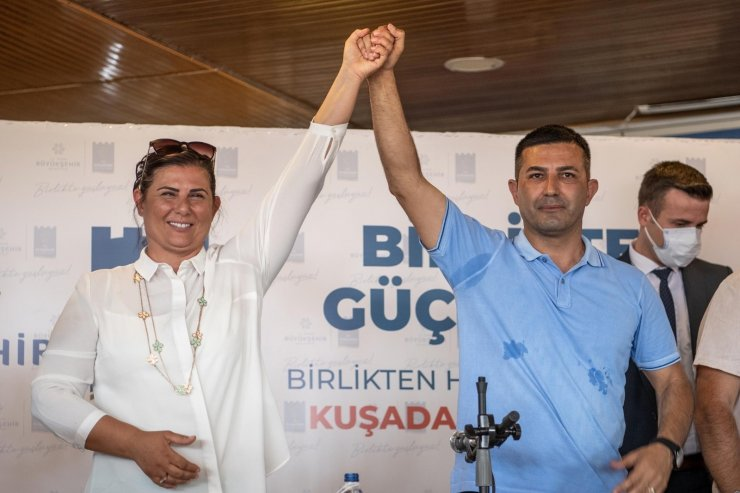 Başkan Çerçioğlu ve Günel, Karaova Mahallesi'nde incelemelerde bulundu