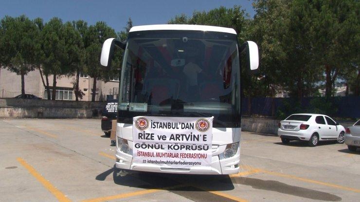 İstanbul'dan Rize ve Artvin'e gönül köprüsü