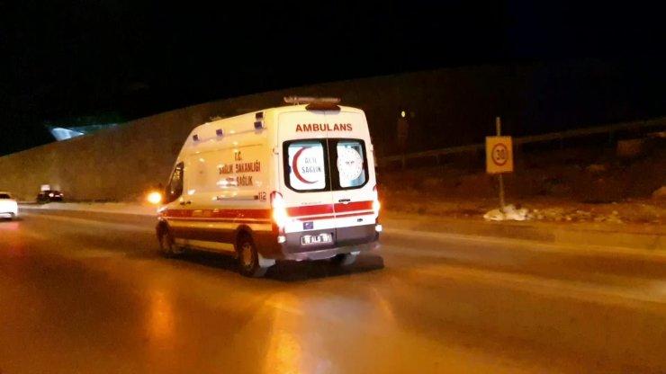 Bursa'da feci motosiklet kazası: 2 yaralı