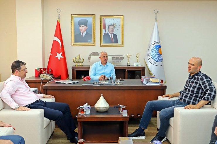Başkan Gültak, Mersin Milletvekili Kılavuz'u ağırladı