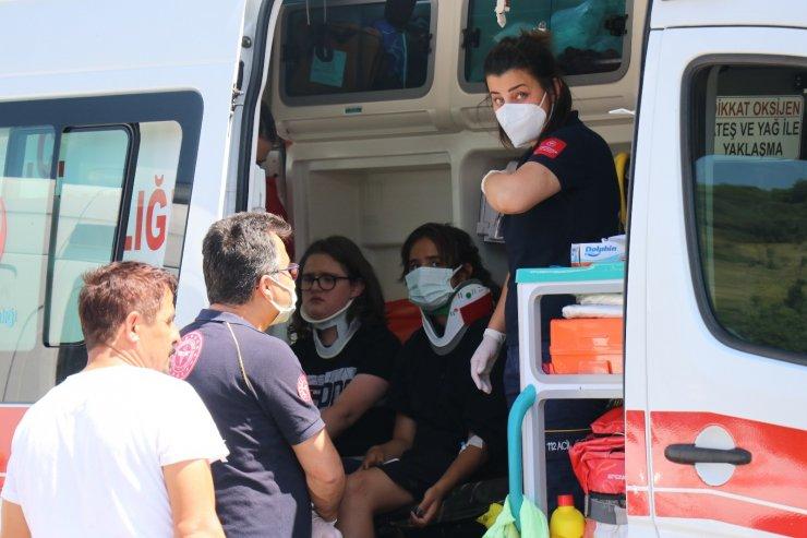 TEM'de zincirleme kaza: 3 yaralı